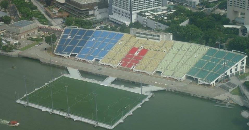 Estádio Float de Marina Bay, em Cingapura