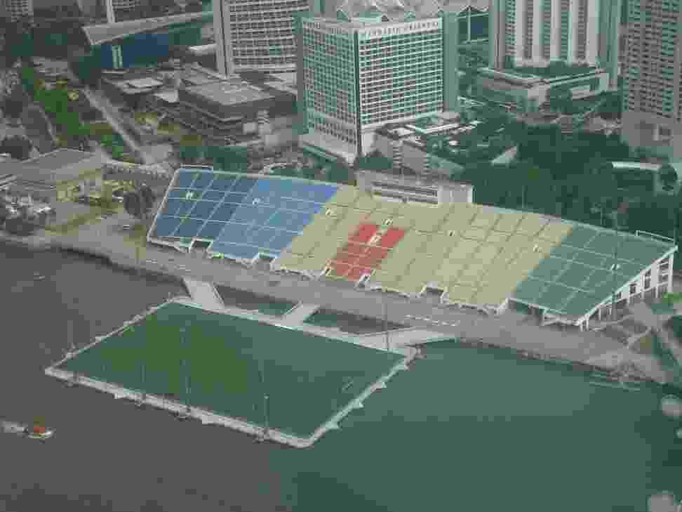 Estádio Float de Marina Bay, em Cingapura - Fábio Aleixo/UOL