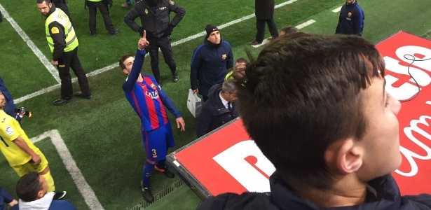 Piqué reclama após o empate entre Barcelona e Villarreal no Espanhol