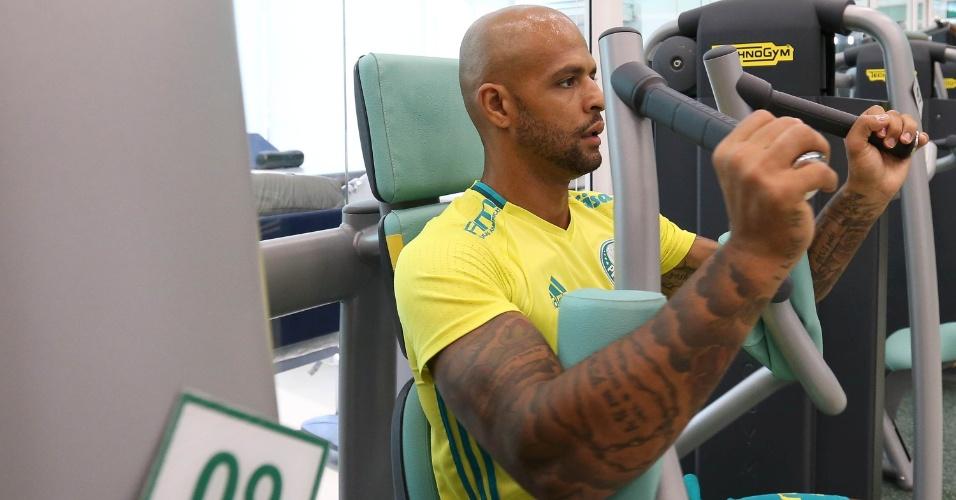 Palmeiras Felipe Melo academia