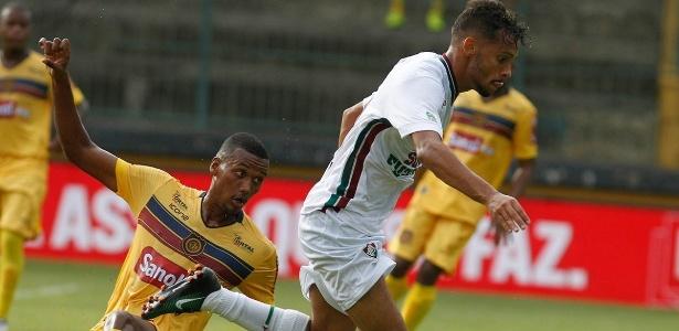 Jogador do Fluminense sofreu lesão diante do Madureira