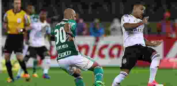 Felipe Melo perseguiu William Potker de perto no Allianz - Marcello Zambrana/AGIF