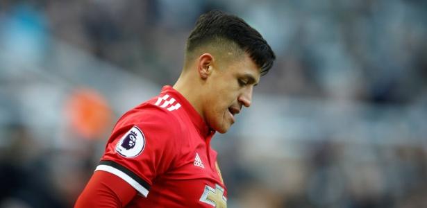 Alexis Sánchez passou em branco na derrota do United
