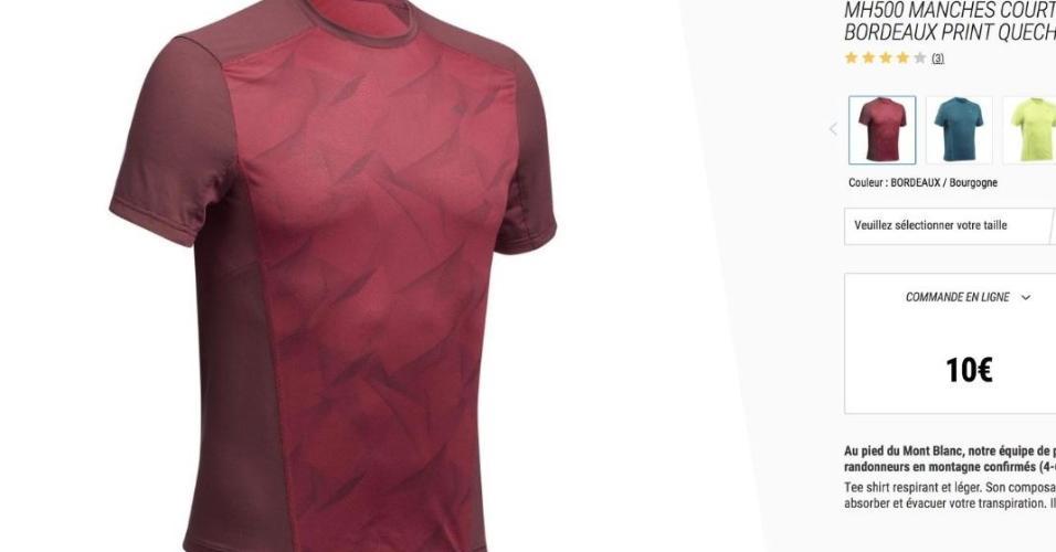 10357f346 Camisa da Venezuela foi comprada em loja