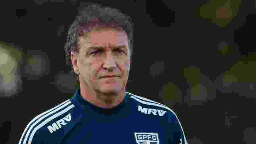 Técnico Cuca comanda treino do São Paulo no CCT da Barra Funda - Marcello Zambrana/AGIF