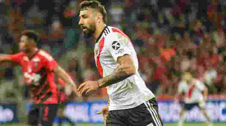 Lucas Pratto, do River Plate - Gabriel Machado/AGIF - Gabriel Machado/AGIF