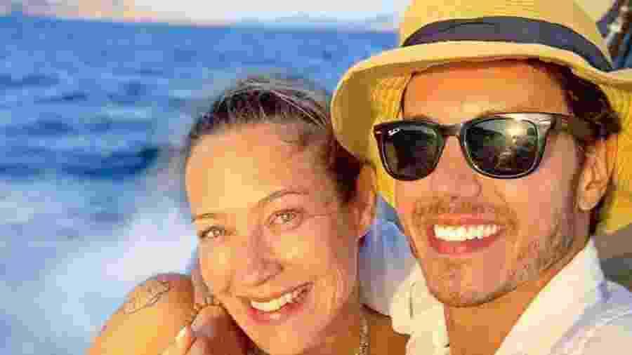 Luana Piovani e Marcel Stürmer curtindo férias em Ibiza - Reprodução/Instagram