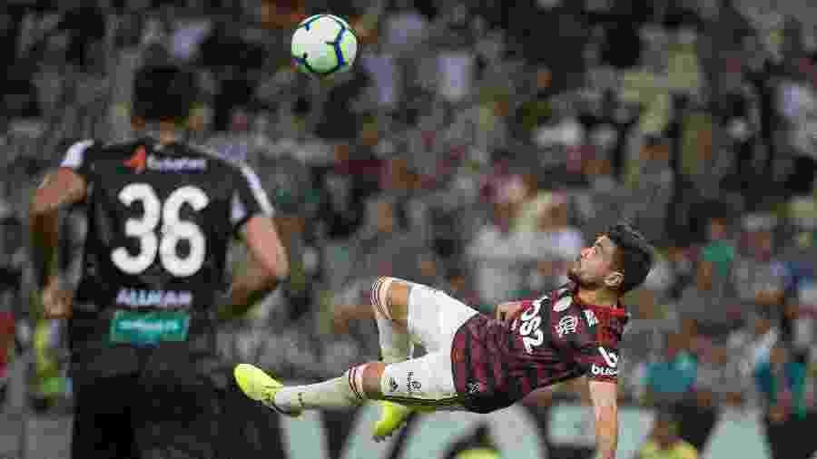 De Arrascaeta marca golaço de bicicleta em vitória do Flamengo - Alexandre Vidal / Flamengo