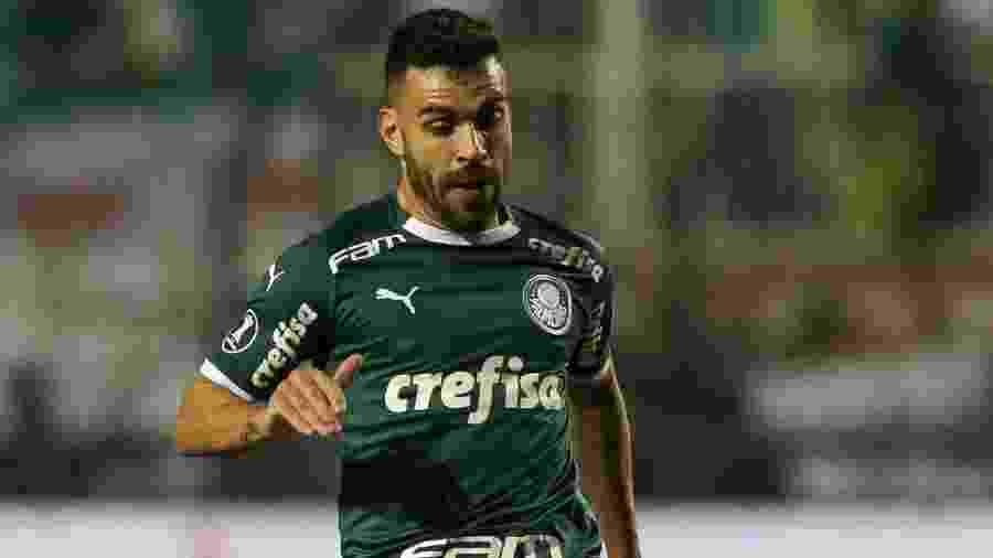 Esposa de Bruno Henrique sofreu episódio de agressão após empate com o Athletico-PR - Cesar Greco/SE Palmeiras