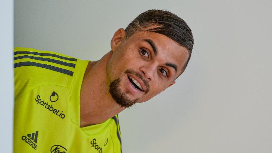 Michael busca afirmação no Flamengo - Marcelo Cortes/Flamengo