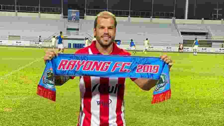 Tiago Luís jogará a temporada 2020 pelo Rayong FC, da Tailândia - Divulgação