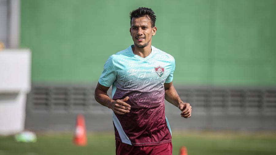 Henrique se despediu do Fluminense e volta ao Cruzeiro - Lucas Merçon/Fluminense FC