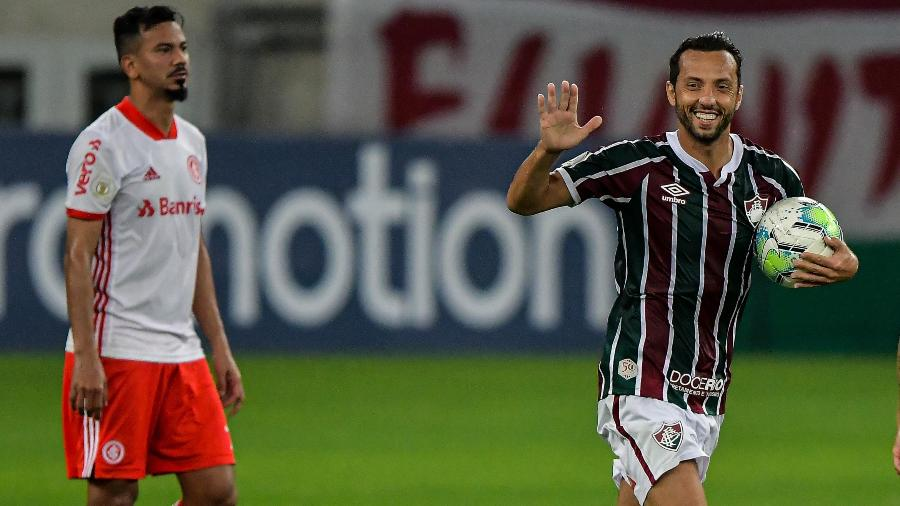Com 20 gols, Nenê foi o artilheiro de 2020 no Fluminense, igualando nomes de peso da história do clube - Thiago Ribeiro/AGIF