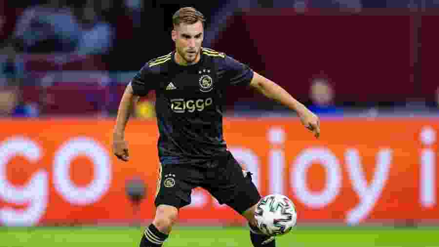 Tagliafico, do Ajax, está na mira do Manchester United no mercado da bola - Gerrit van Keulen/BSR Agency/Getty Images