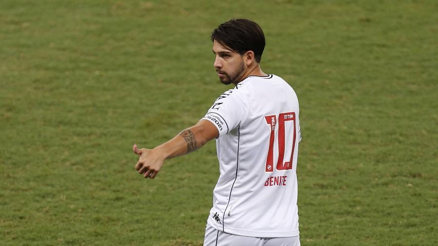 Hoje no Vasco por empréstimo, Martín Benítez está perto de acordo com o São Paulo no mercado da bola - Rafael Ribeiro / Vasco