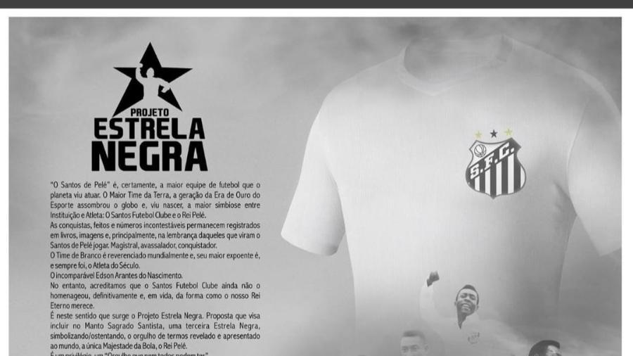 Projeto Estrela Negra - Santos - Reprodução