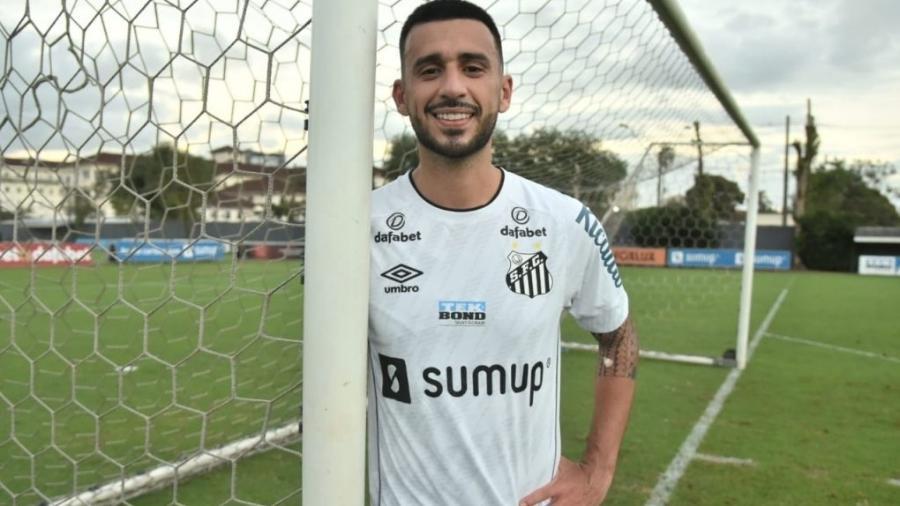 Guilherme Camacho é o quinto reforço do Santos para a temporada 2021 - Ivan Storti/Santos FC