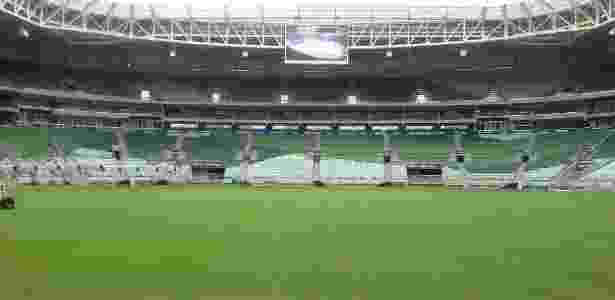 Palmeiras se prepara para manter os jogos da Libertadores na arena - Diego Salgado/UOL