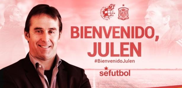 Julen Lopetegui é anunciado como novo treinador da Espanha