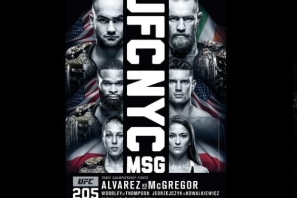 Pôster do UFC 205