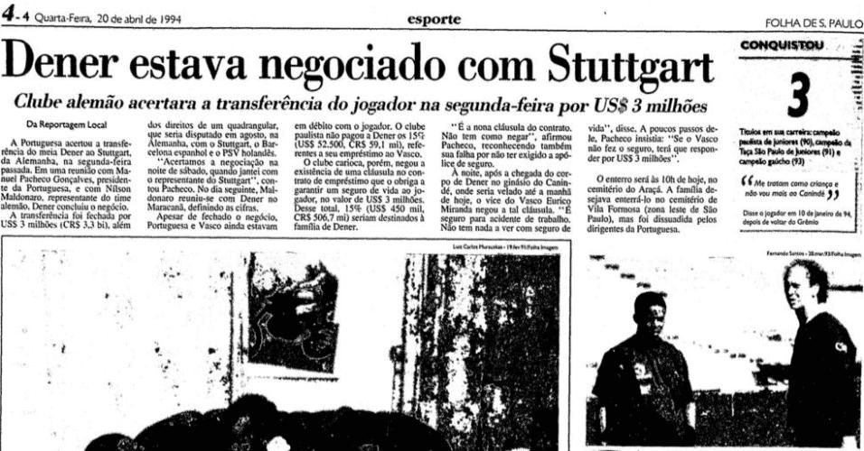 Reprodução/Folha de S. Paulo