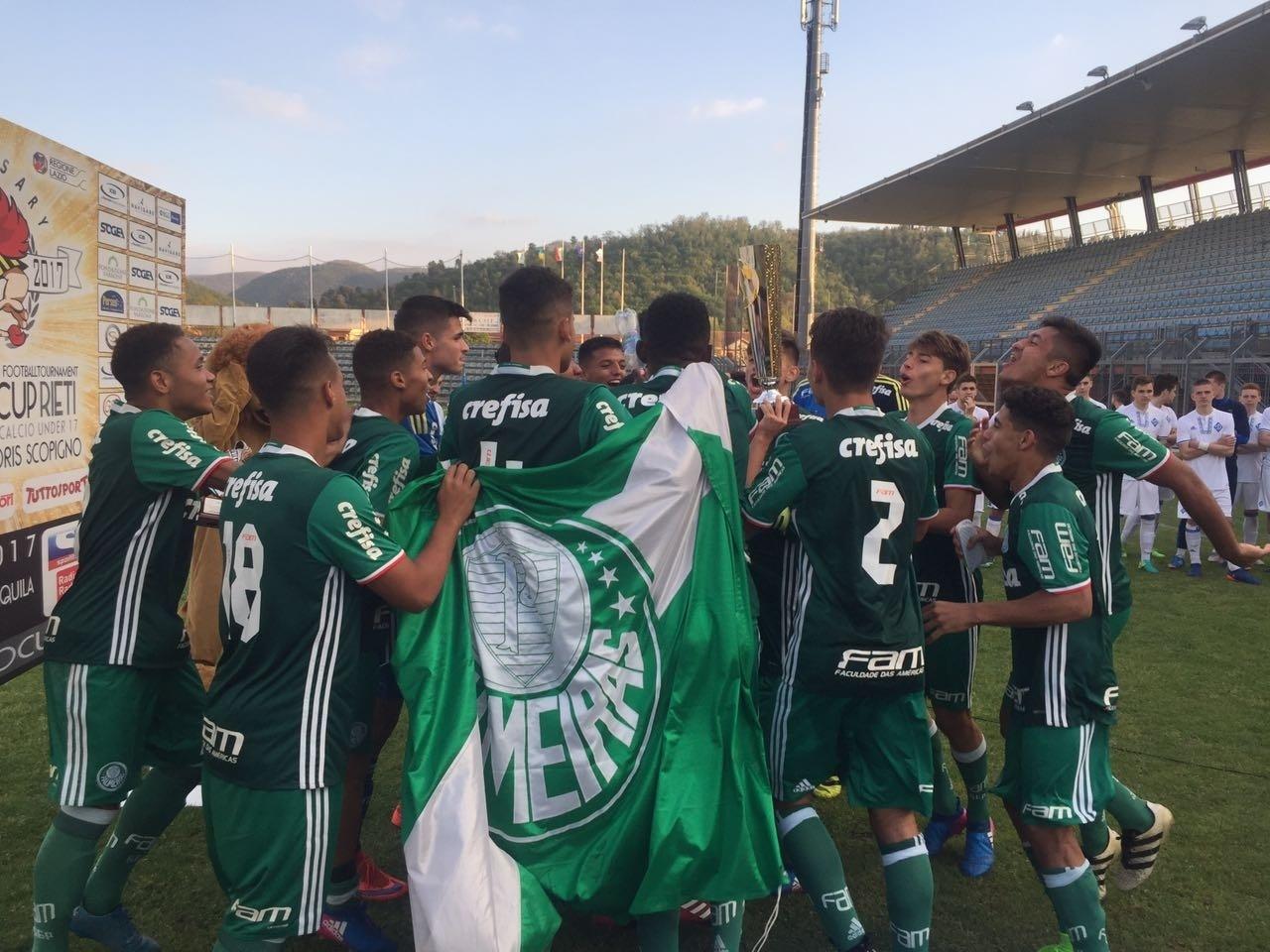 Palmeiras campeão Itália Sub-17