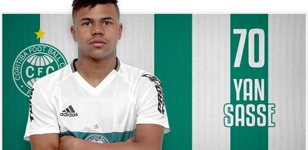 Agente de Yan Sasse quer levá-lo ao Bahia, mas o Coritiba não pretende negociar saída