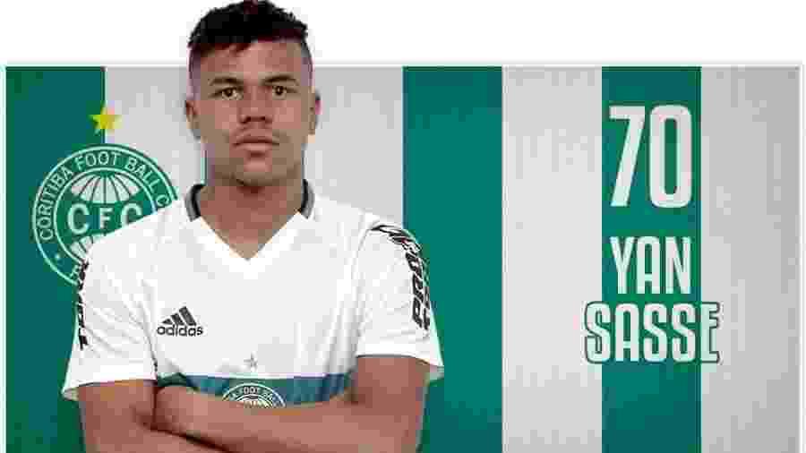 Agente de Yan Sasse quer levá-lo ao Bahia, mas o Coritiba não pretende negociar saída - Divulgação