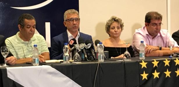 Alexandre Capelo concede entrevista após ser eleito novo presidente do Vasco