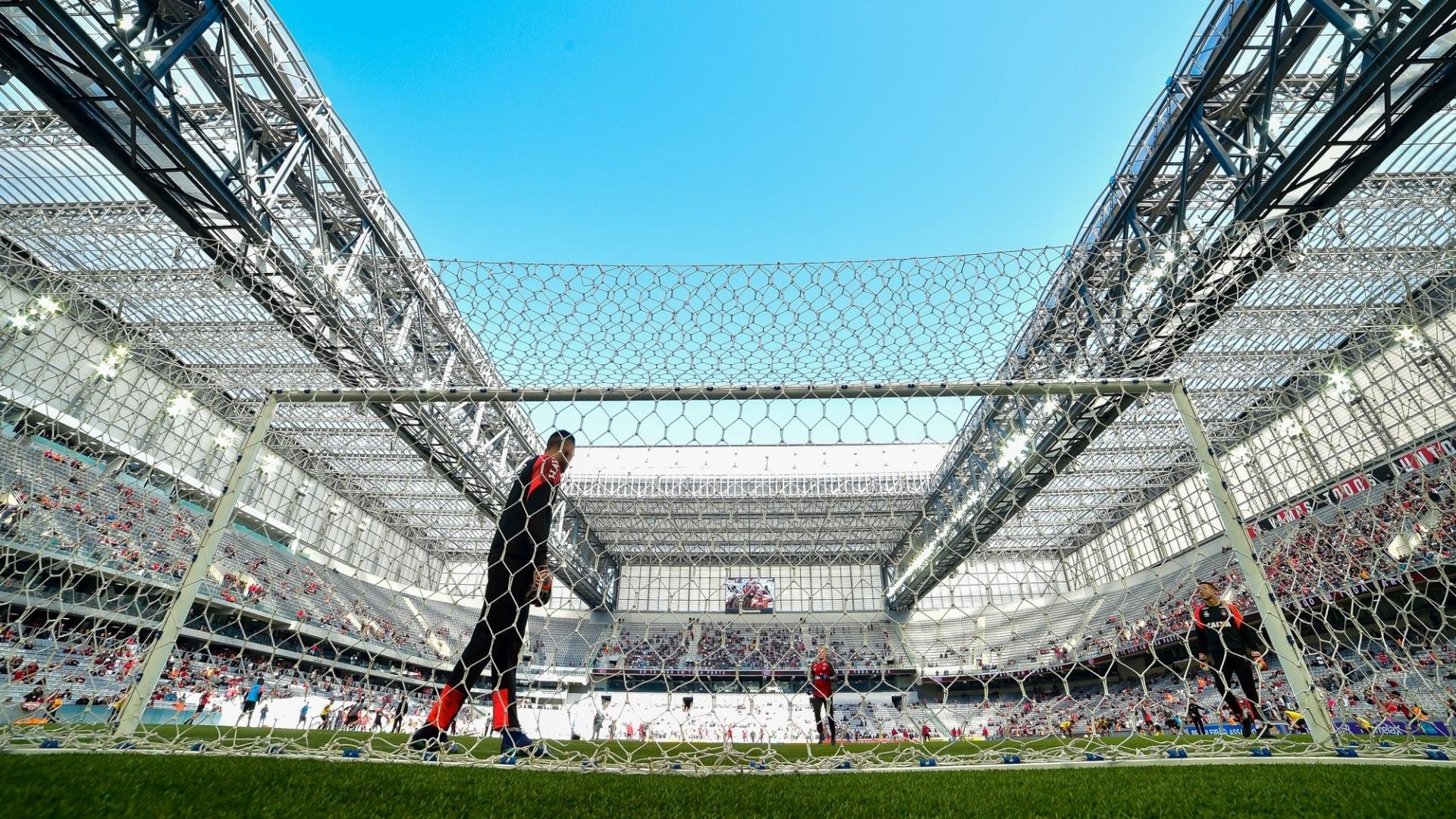 Aquecimento Atletico-PR x Flamengo
