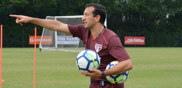 O preparador físico do São Paulo, Fernando Piñatares, trabalha com Aguirre desde 2007 - Érico Leonan / saopaulofc.net