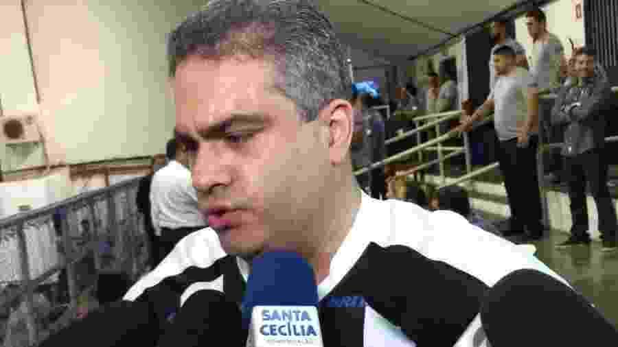 Orlando Rollo, vice-presidente do Santos - Marcello De Vico/UOL
