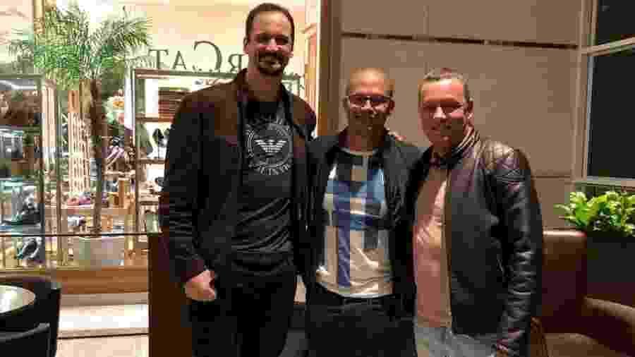 Lipe, Alex e Tato Eleutério, da Smart League - Arquivo pessoal / Luiz Felipe Fonteles