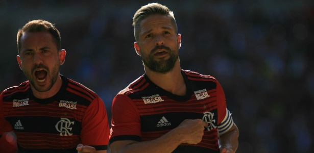 Após quase fechar com time dos EUA, Diego renovou com o Flamengo até o fim de 2020 - Jotta de Mattos/AGIF