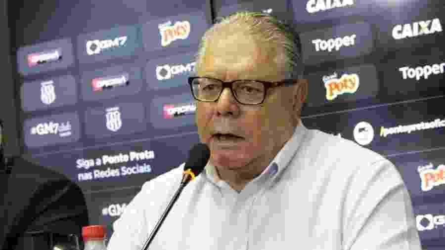 José Armando Abdalla Júnior, agora ex-presidente da Ponte Preta - PontePress/LuizGuilhermeMartins