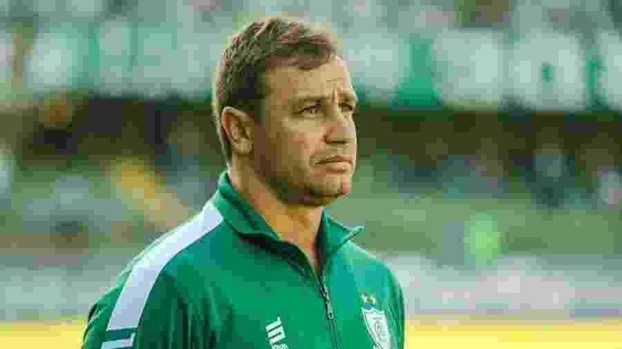 Treinador, que estava no América-MG, substituiu Antônio Carlos Zago no time paulista - Gabriel Machado/AGIF