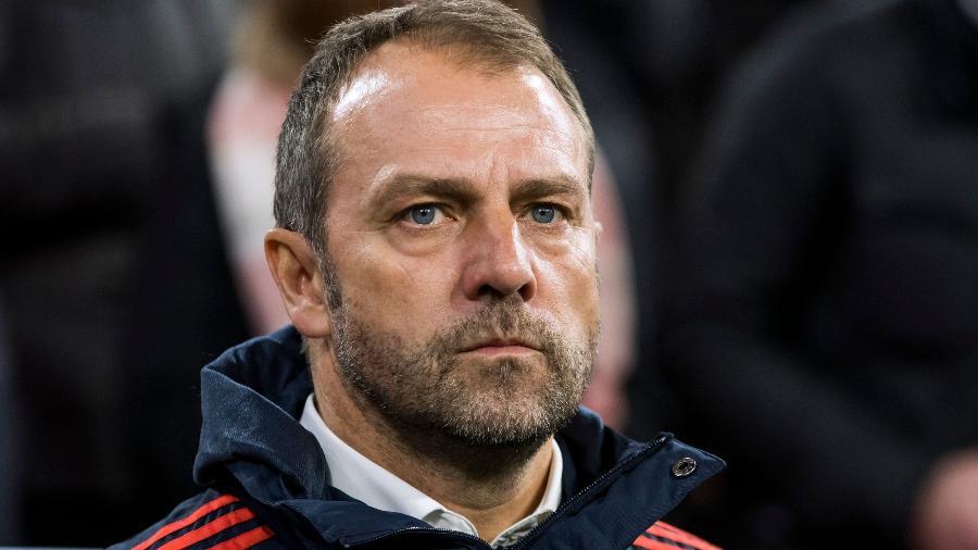 Hansi Flick, comandante do Bayern de Munique na temporada 2019/2020 - Odd Andersen/AFP
