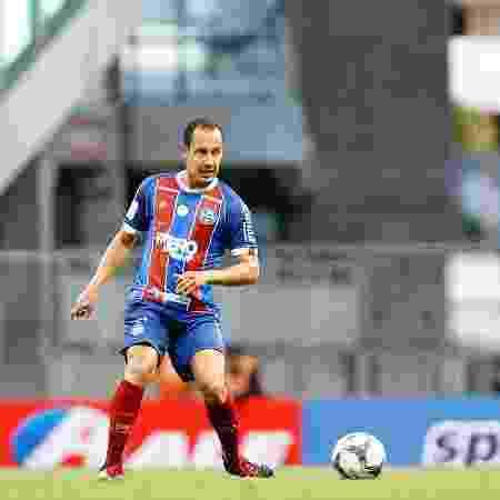 Rodriguinho em sua estreia pelo Bahia, contra o Confiança-SE, pela Copa do Nordeste - Felipe Oliveira / EC Bahia - Felipe Oliveira / EC Bahia