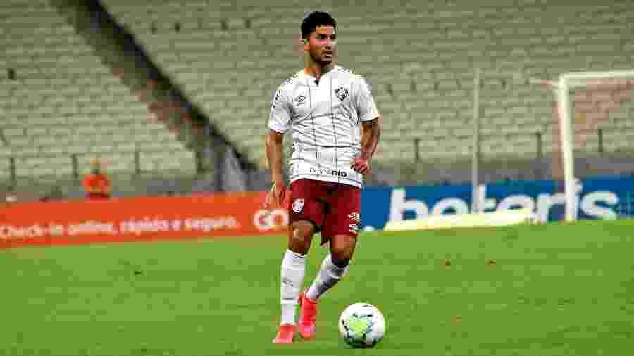 Igor Julião sentiu dores musculares e foi poupado do treinamento no Fluminense - Mailson Santana/Fluminense FC