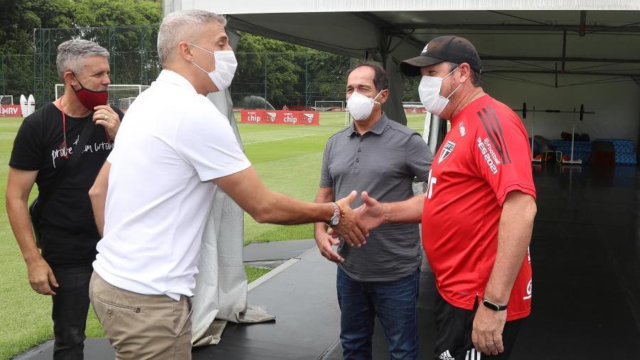 Coordenador técnico Muricy Ramalho diz que escolha por Hernán Crespo foi escolha acertada do São Paulo  - Divulgação/São Paulo FC