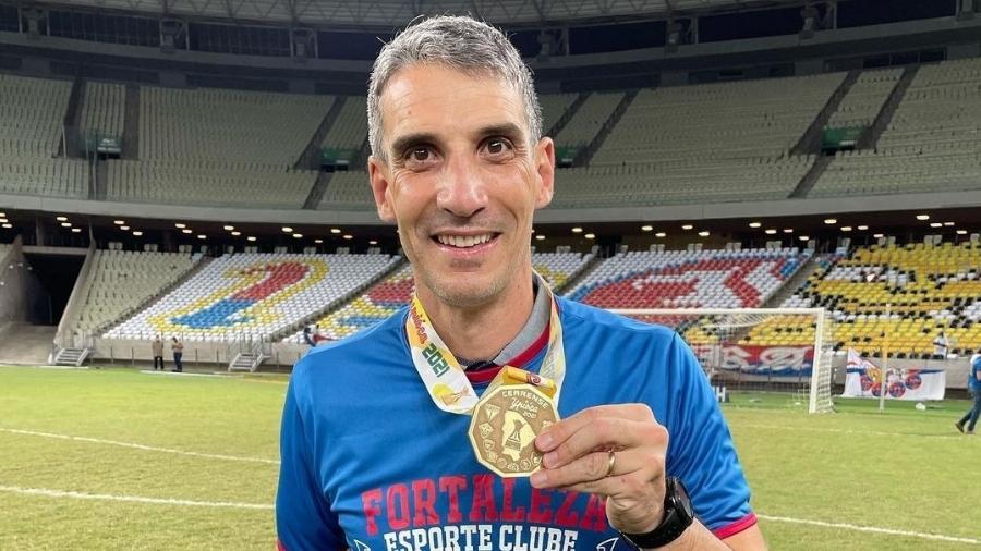 Técnico do Fortaleza, Vojvoda conquistou o primeiro título da carreira  - Leonardo Moreira/FortalezaEC
