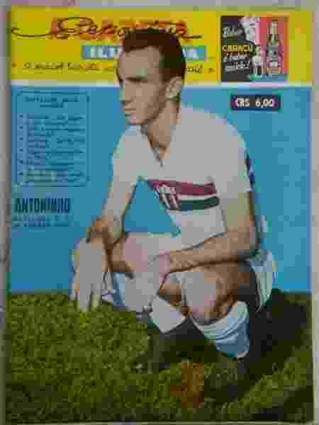 Antoninho era ídolo do Botafogo-SP - Arquivo pessoal - Arquivo pessoal