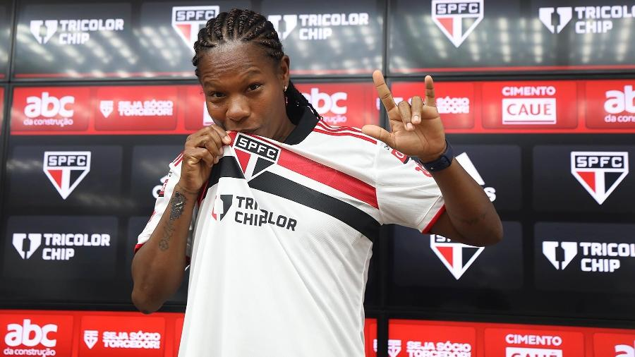 Formiga, durante apresentação no São Paulo - Rubens Chiri/saopaulofc.net