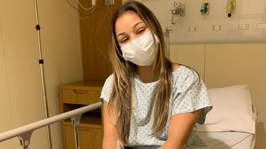 Flávia Saraiva passou por cirurgia no pé após Olimpíadas de Tóquio - Reprodução