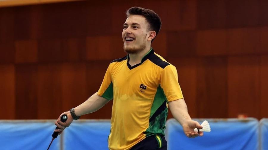 Vitor Tavares busca medalha no parabadminton nas Paralimpíadas 2020 - Takuma Matsushita/CPB