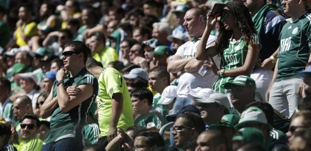 Torcida do Palmeiras quer que time faça treino aberto no Allianz Parque