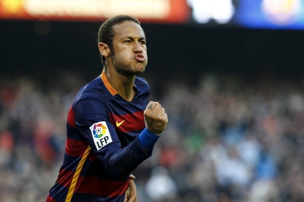 Neymar marcou um gol antológico na vitória do Barcelona contra o Villarreal
