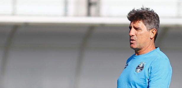 Renato Gaúcho promete avaliar reservas ou titulares no próximo jogo do Grêmio