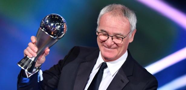 Façanha com Leicester fez Ranieri garantir prêmio de melhor técnico do mundo