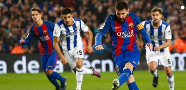 O Barcelona eliminou o Real Sociedad pela Copa do Rei